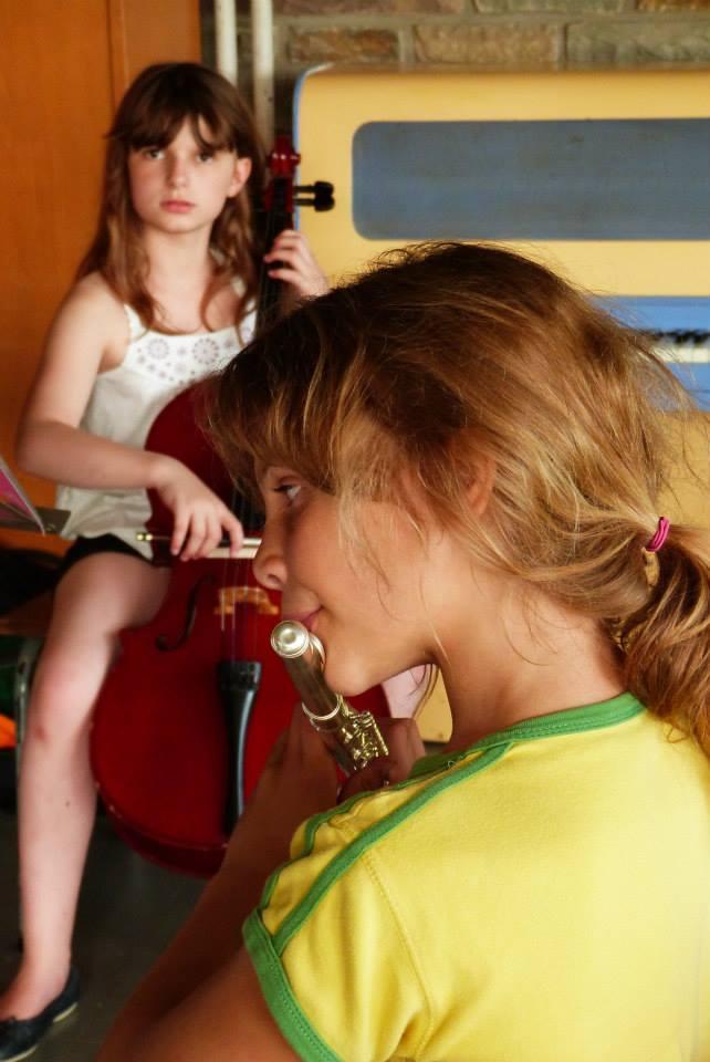 flûte et violoncelle